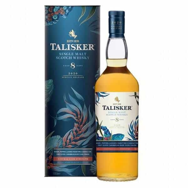 Talisker 8 year old single malt scotch whisky special releases 2020 700ml