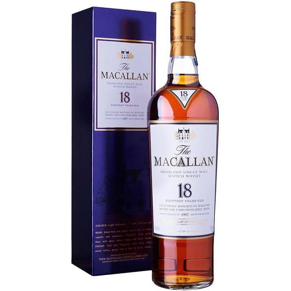 macallan 18 year old double cask 700ml